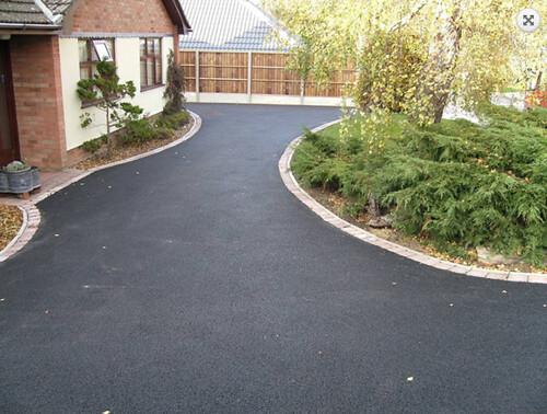 Finished Driveway Asphalt