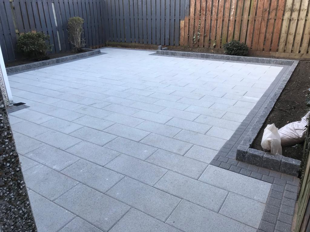 Paved Patio Installation Dublin