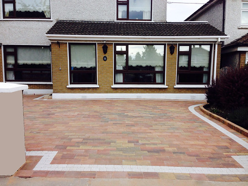 Paving Driveways house Dublin