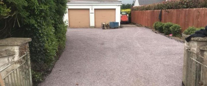 New Tar & Chip Driveway Completed