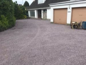 New Tar & Chip Driveway Completed in Navan