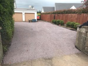 Tar & Chip Driveway Completed Meath