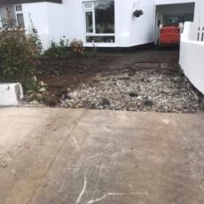 New Driveway in Glasnevin