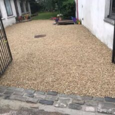 Yellow Gravel Driveway Templeogue 3