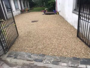 Yellow Gravel Driveway Templeogue