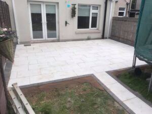 Back Garden Completed in Dublin