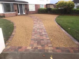 Gravel Driveway Completed in Dublin