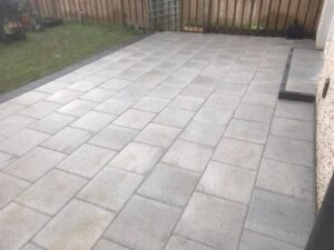 New Patio Completed 3