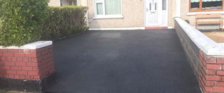 Tarmacadam driveway 2