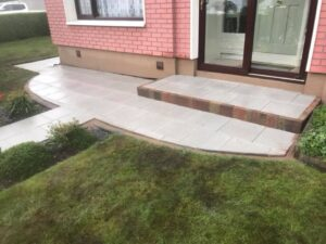 Silver Granite Footpaths Dublin 2