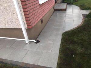 Silver Granite Footpaths Dublin 3