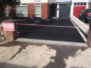 Tarmac Driveway with Silver Granite Edging Portmarnock 2