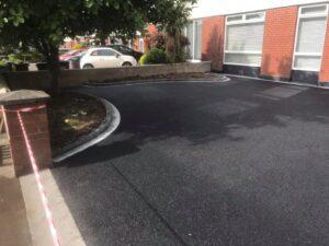 Tarmac Driveway with Silver Granite Edging Portmarnock 3