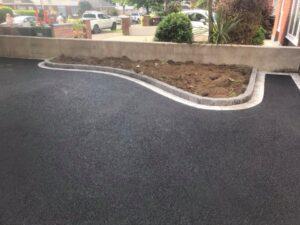 Tarmac Driveway with Silver Granite Edging Portmarnock 4