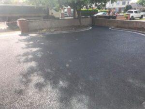 Tarmac Driveway with Silver Granite Edging Portmarnock 5