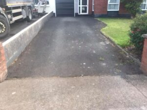 Resurfaced driveway in Portmarnock Dublin 1