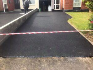 Resurfaced driveway in Portmarnock Dublin 2