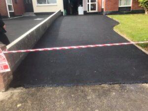 Resurfaced driveway in Portmarnock Dublin 3