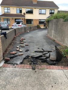 Tarmac Driveway Repair 1